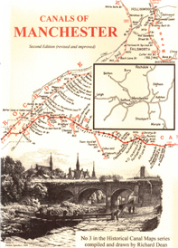 Historical Map of the Canals of Manchester front cover